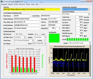 delta T AC Monitoring Back End Office Software Application
